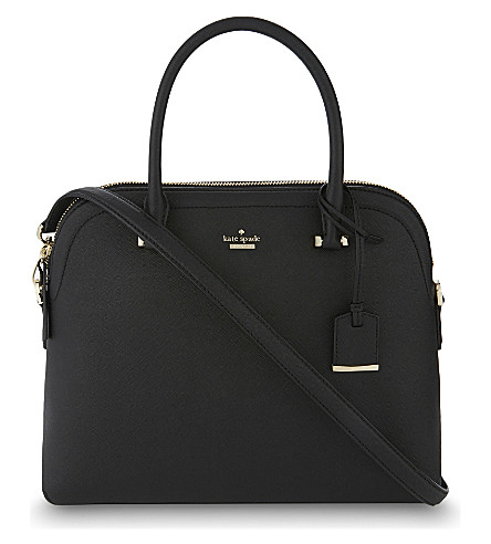 KATE SPADE NEW YORK Cameron street margot leather shoulder bag (Black