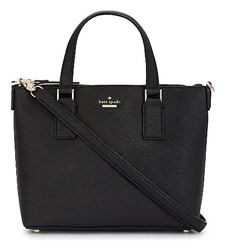 KATE SPADE NEW YORK Lucie cameron street leather shoulder bag (Black