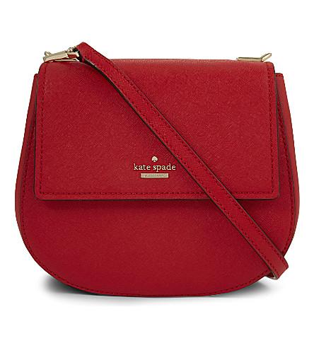 KATE SPADE NEW YORK Cameron street Byrdie saddle bag (Rooster red