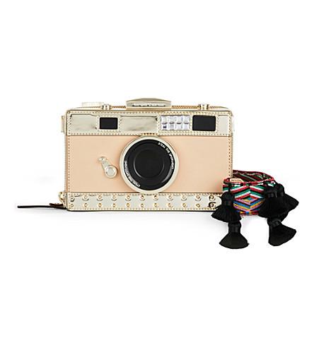 KATE SPADE NEW YORK Camera leather shoulder bag (Multi