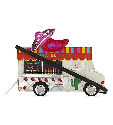 KATE SPADE NEW YORK Taco truck leather cross-body bag (Multi