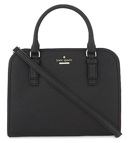 KATE SPADE NEW YORK Jackson Street Lottie satchel bag (Black