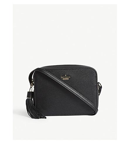 KATE SPADE NEW YORK Kingston Drive Arla leather shoulder bag (Black