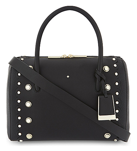 KATE SPADE NEW YORK Madison Stewart Street satchel bag (Black