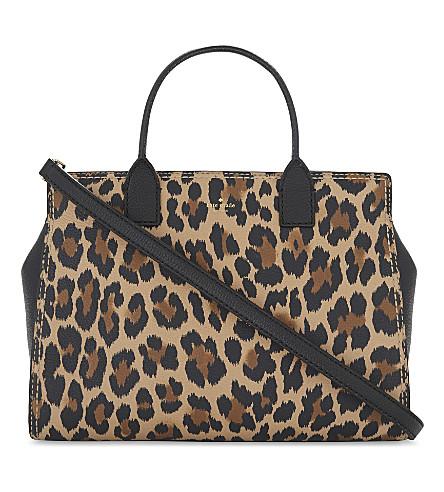 KATE SPADE NEW YORK Dunne leather cross-body bag (Leopard