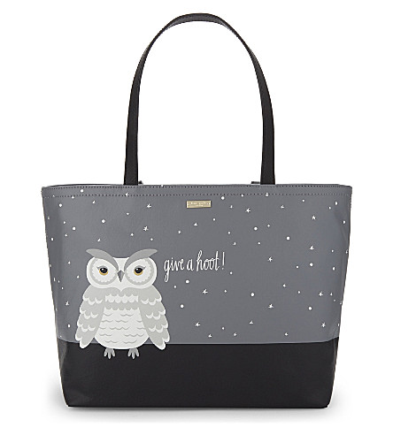 KATE SPADE NEW YORK Francis faux-leather tote (Multi