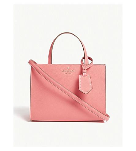 KATE SPADE NEW YORK Thompson Street Sam leather tote (Bright+flamingo