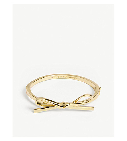 KATE SPADE NEW YORK Skinny bow bangle (Gold