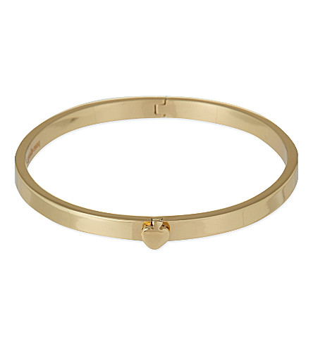 KATE SPADE NEW YORK Hinge bangle (Gold