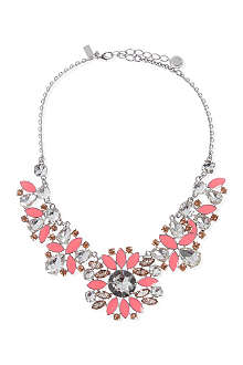 KATE SPADE Frosty floral short necklace