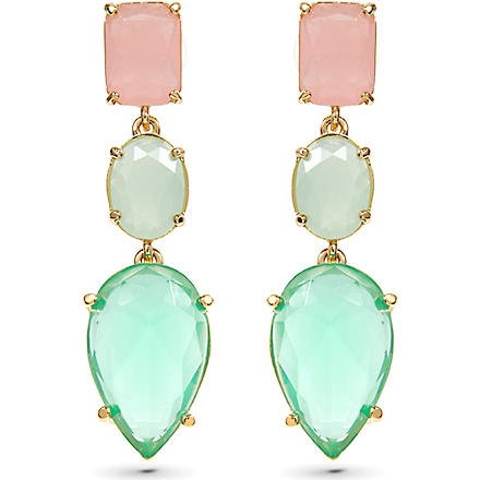 KATE SPADE Gumdrop gems earrings (Multi