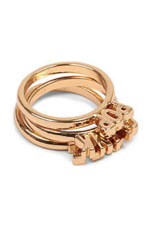 KATE SPADE Pop the cork gold ring