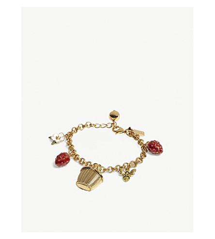 KATE SPADE NEW YORK Picnic Perfect charm bracelet (Multi