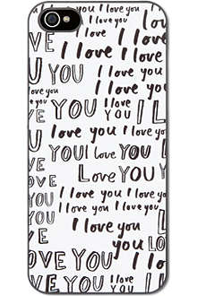IDEAL I love you iPhone case