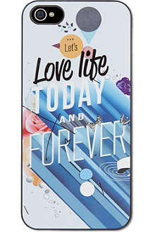 IDEAL Let's love life today iPhone case