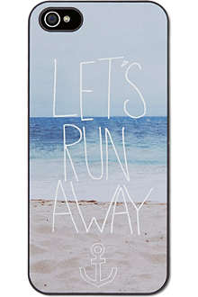 IDEAL Let's run away iPhone case