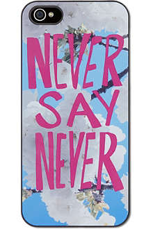 IDEAL Never say never iPhone case