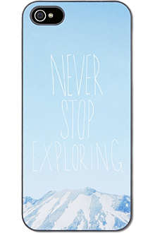 IDEAL Never stop exploring iPhone case