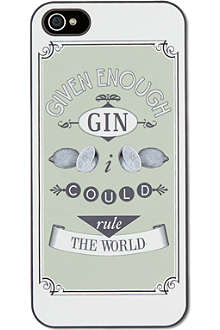 IDEAL Given enough gin iPhone case