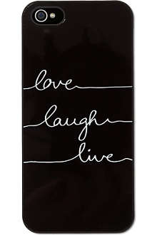 IDEAL Love laugh live iPhone case