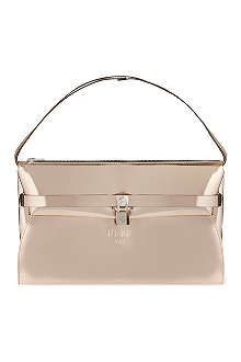 GOLDEN GOOSE Berry metallic cross-body bag