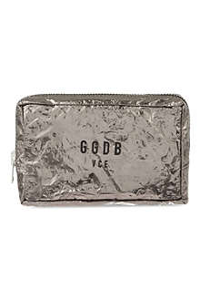 GOLDEN GOOSE Metallic pouch