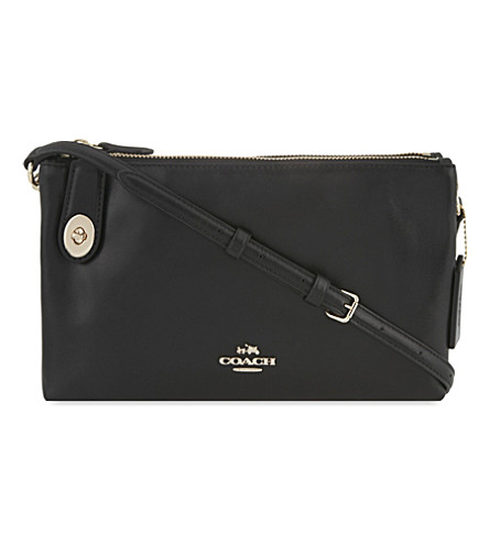 COACH Crosby leather cross-body bag (Black