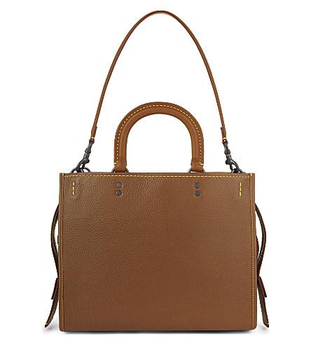 COACH 1941 Rogue leather shoulder bag (Bp/1941+saddle