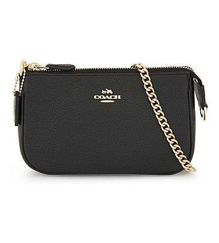 COACH Nolita Leather clutch (Li/black