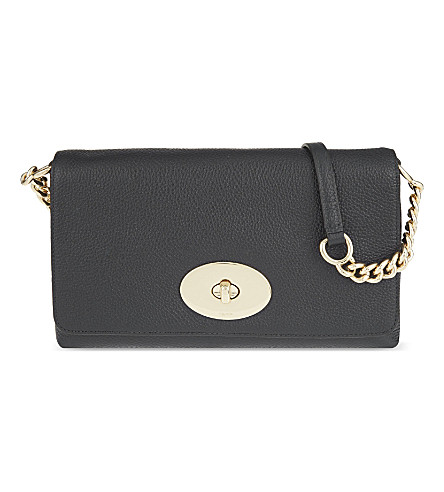 COACH Crosstown leather cross-body bag (Li/black