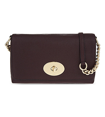 COACH Crosstown leather cross-body bag (Li/oxblood