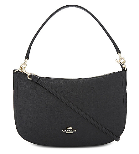 COACH Chelsea leather cross-body bag (Li/black