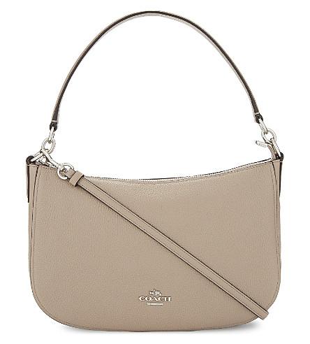 COACH Chelsea leather cross-body bag (Sv/stone
