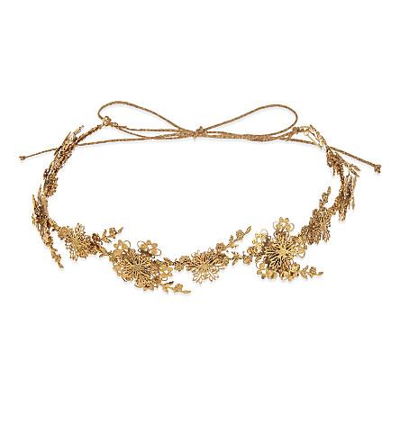 JENNIFER BEHR Nyssa circlet headband (Gold