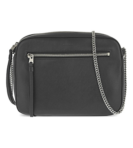 ALLSAINTS Chain cross body (Black