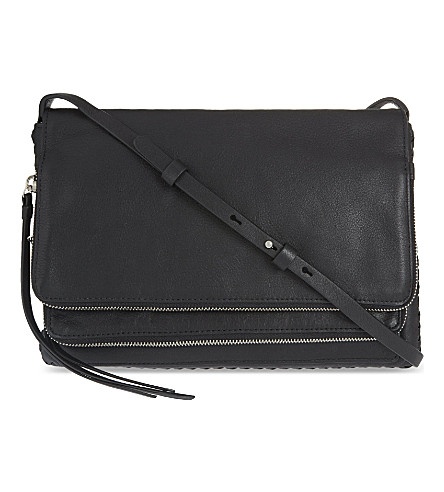 ALLSAINTS Club crossbody bag (Black
