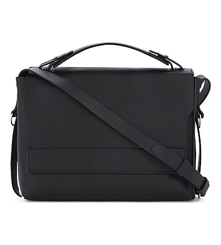 ALLSAINTS Paradise leather shoulder bag (Black