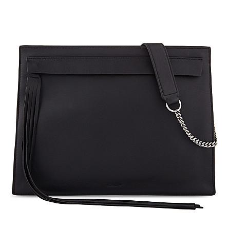 ALLSAINTS The Kyo leather shoulder bag (Black