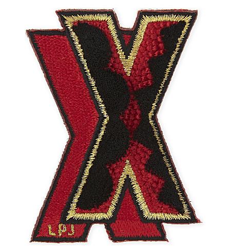 LES PETITS JOUEURS Small X sticker (Multi