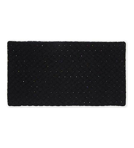 WILLIAM SHARP Crystal embellished headband (Black