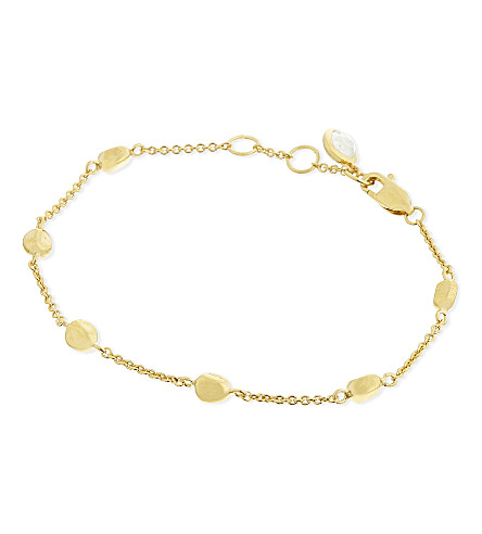 MISSOMA LTD 18ct gold nugget bracelet (Gold