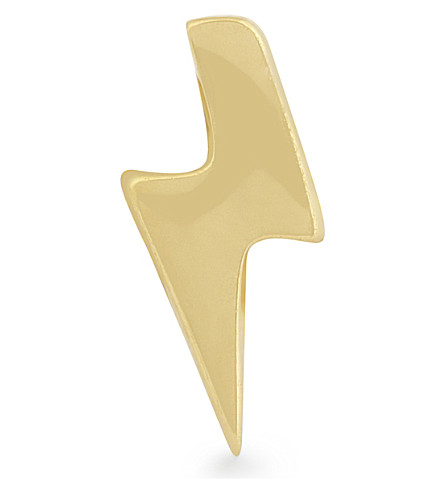 MISSOMA LTD Arrow 18ct gold vermeil stud earring (Gold