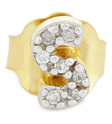 MISSOMA LTD S 18ct gold vermeil stud earring (Gold