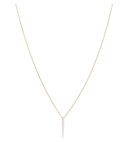 MISSOMA LTD 18ct gold 18ct gold vermeil spike charm necklace (Gold