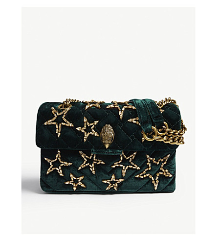 KURT GEIGER LONDON Quilted Kensington bag (Teal