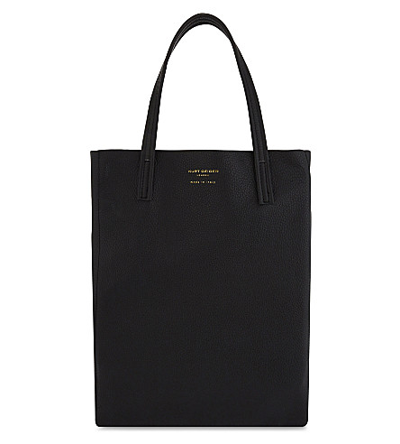 KURT GEIGER LONDON Violet Vertical tote bag (Black