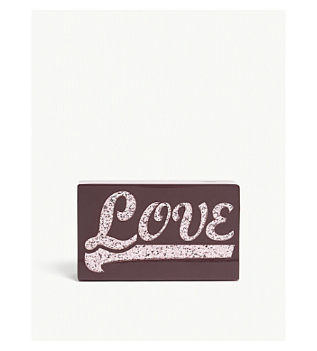 KURT GEIGER LONDON Party love clutch (Red/other