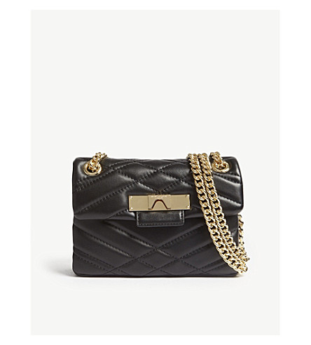 Mayfair mini quilted leather shoulder bag