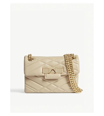 LONDON Mini X Mayfair shoulder KURT leather bag GEIGER Beige zwEUc7q75P