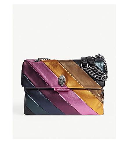 KURT GEIGER LONDON Metallic Kensington bag